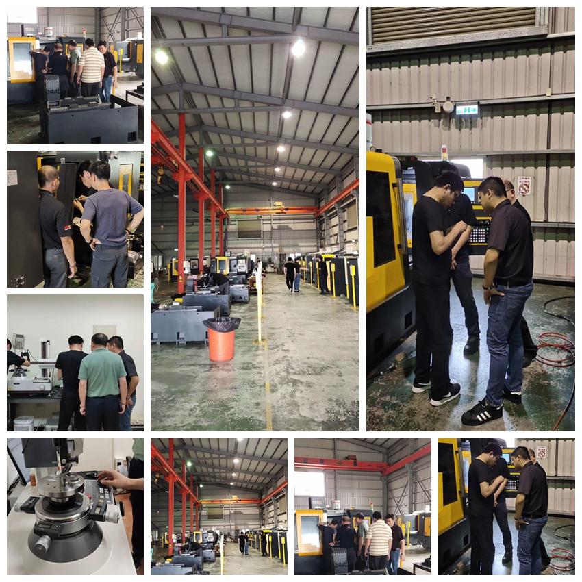 数控球面车床客户验收圆满结束,为中国科技制造加油