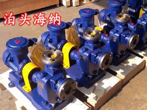 自吸式防爆柴油泵